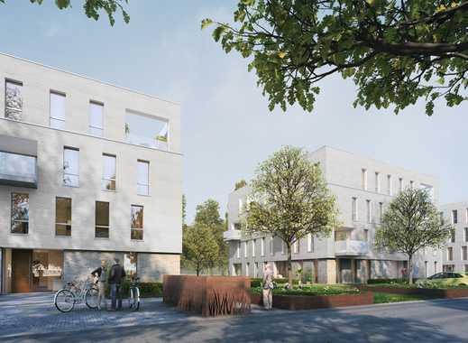 cube4 - WOHNEN AM PARK - 2-Zimmer-Wohnung im EG mit Südost-Terrasse