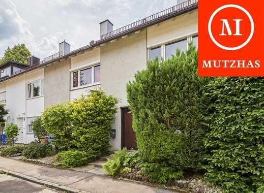MUTZHAS - Nostalgisches Reihenhaus in ruhiger und zentraler Südlage Forstenrieds mit Garage