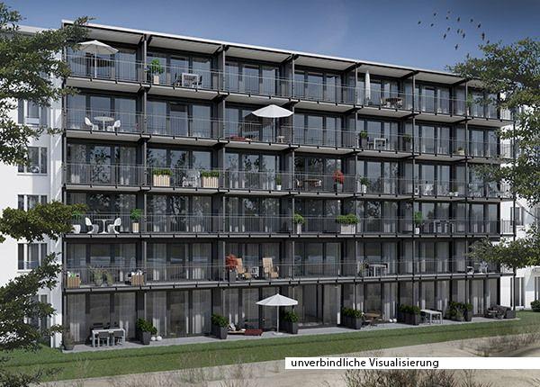 maisonette wohnung mit terrasse und balkon in 1. Black Bedroom Furniture Sets. Home Design Ideas