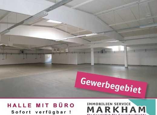 Top Standort - Halle mit Büro - zu vermieten!