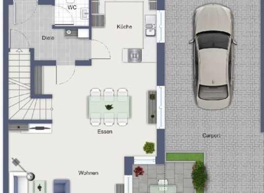 Haus Nr. 4 mit schönem Grundstück und Carport
