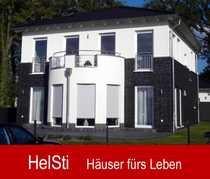 Landhaus Stadtvilla mit Runderker Balkon