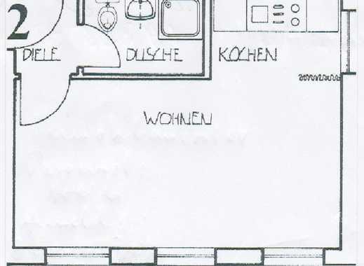 Schöne 1-Zimmer Wohnung in Nürnberg, Wöhrd, möbliert und Einbauküche