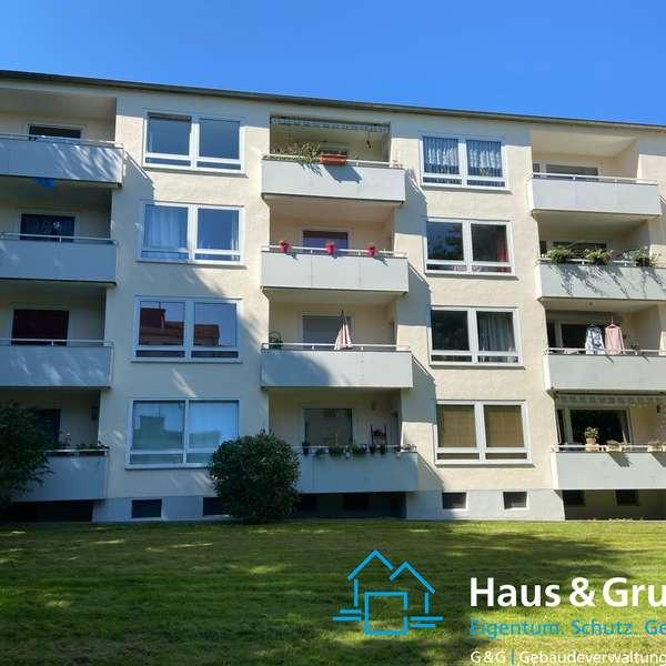 *** schöne, helle 3-Zimmer-Wohnung im Grünen von Aachen ***