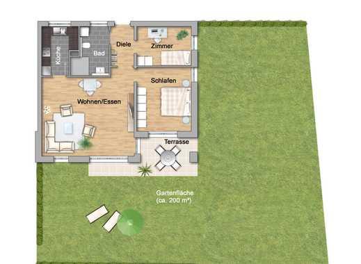 NEU: 3-Zimmer mit Garten im Betreuten Wohnen