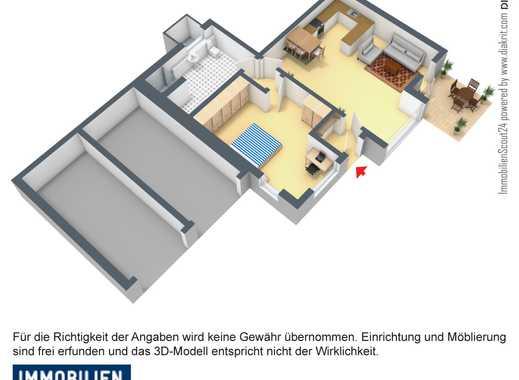 Großzügige, ebenerdige Komfortwohnung mit hochwertigen Böden, Terrasse und Oberklasse-Bad