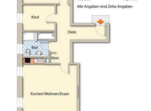 Erstbezug: Barrierefreie Neubauwohnung in Viersen, 2. Obergeschoß links
