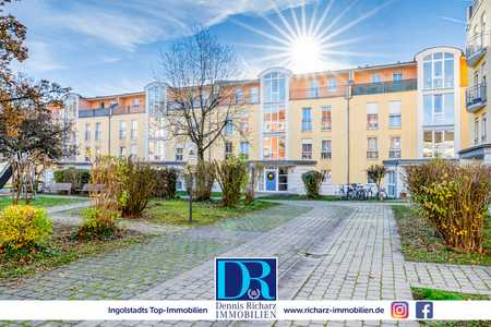 Helle 3-Zimmer-Wohnung mit Balkon - in 5 Minuten direkt in der City und am HBF! in Südwest (Ingolstadt)