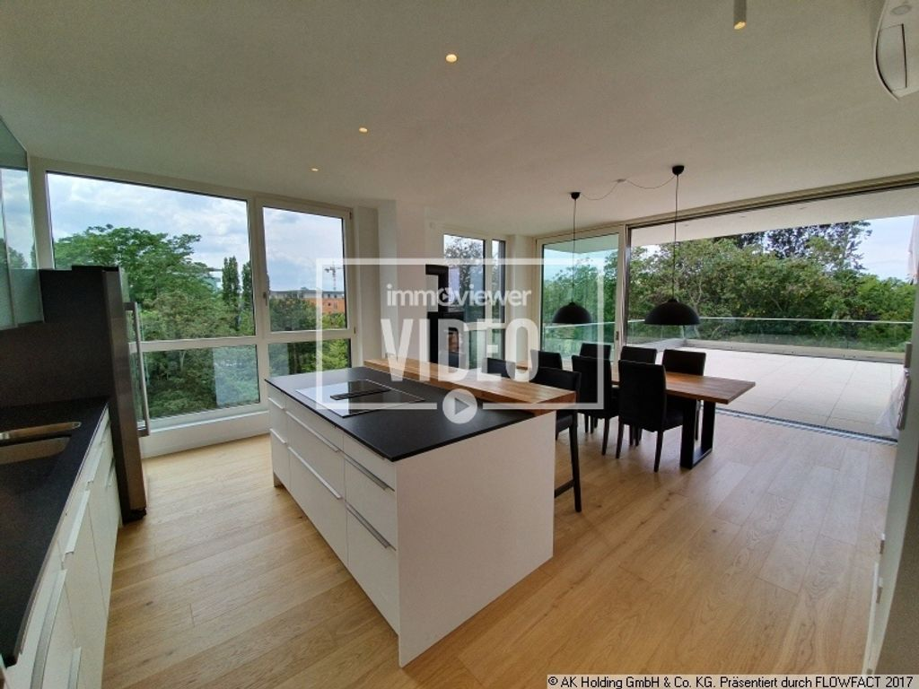 exklusiv extravagant  high end terrassenwohnung über den