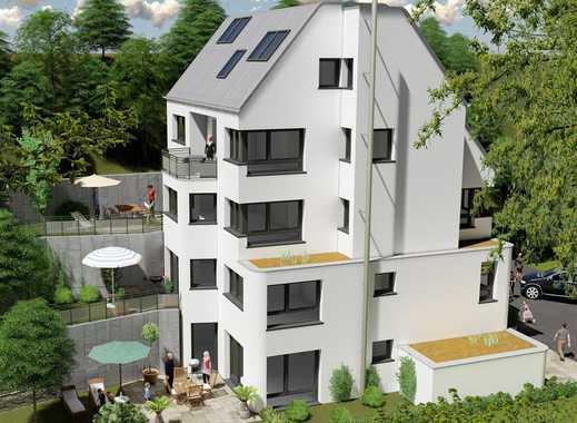 exklusiver Neubau in Hanglage - barierefrei mt Aufzug u. Gartenterrasse -Erstbezug!