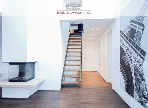 Exklusives möbliertes Penthouse über 2 Ebenen  mit Dachterrasse und Galerie