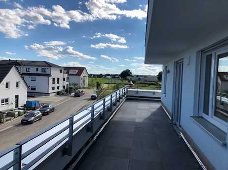 Neubau 4-Zimmer Wohnung mit großer Dachterrasse (Wohnberechtigungschein erforderlich) in Schwabmünchen