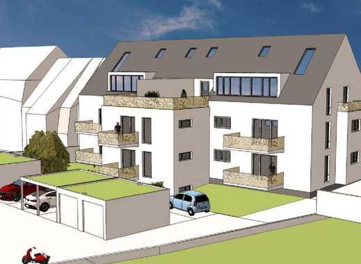 Moderne Neubau-2 ZKB-Eigentumswohnung in einem MFH im Stadtteil Bulach am Grüngürtel der Alb!