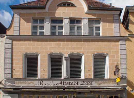 Wunderschöner Altstadtladen (oder Büro) mit mod. Automatiktüren & romantischem Innenhof zu vermieten