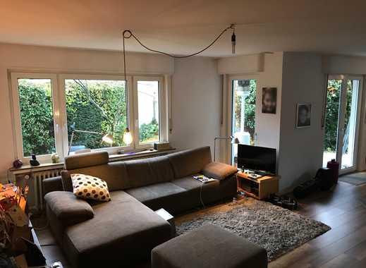 4-Zimmerwohnung mit Garten in Rheinnähe