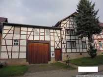Bild Schönes Fachwerkhaus mit Nebengebäuden in der Nähe von Mühlhausen