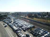 Bild Freifläche Gewerbegrundstück Autohandel Containerlager