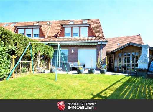 Arbergen / Gepflegtes Rotklinker Reihenendhaus mit Süd-West Garten und Stellplatz