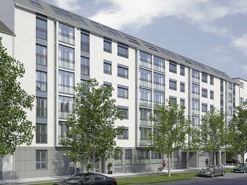 Ab sofort! 2 Zi. Neubauwohnung– U3, Petuelring, BMW, Luitpoldpark – in unmittelbarer Nähe!