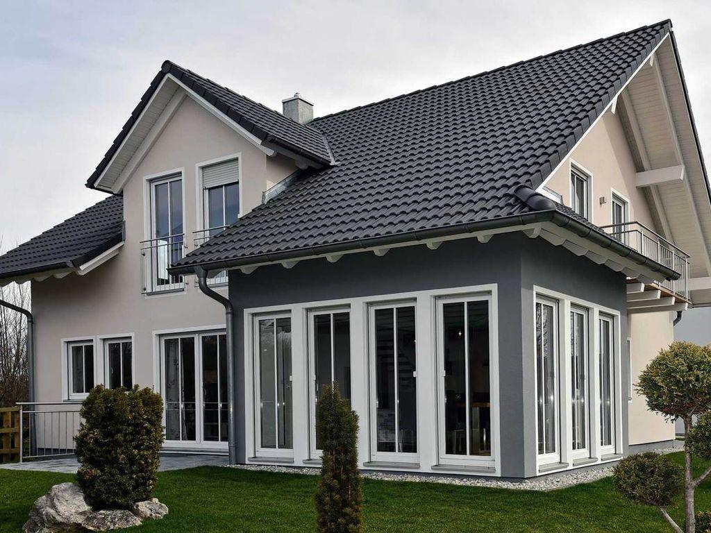 Musterhaus Poing gemütliches einfamilienhaus haas musterhaus poing g 154 kn1m