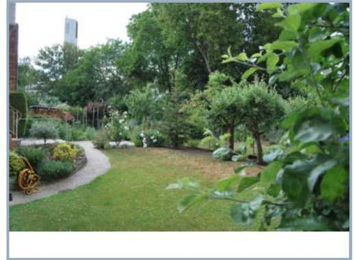 Haus mit großen Garten und 2Balkonen am Günthersburgpark im Nordend/Bornheim !