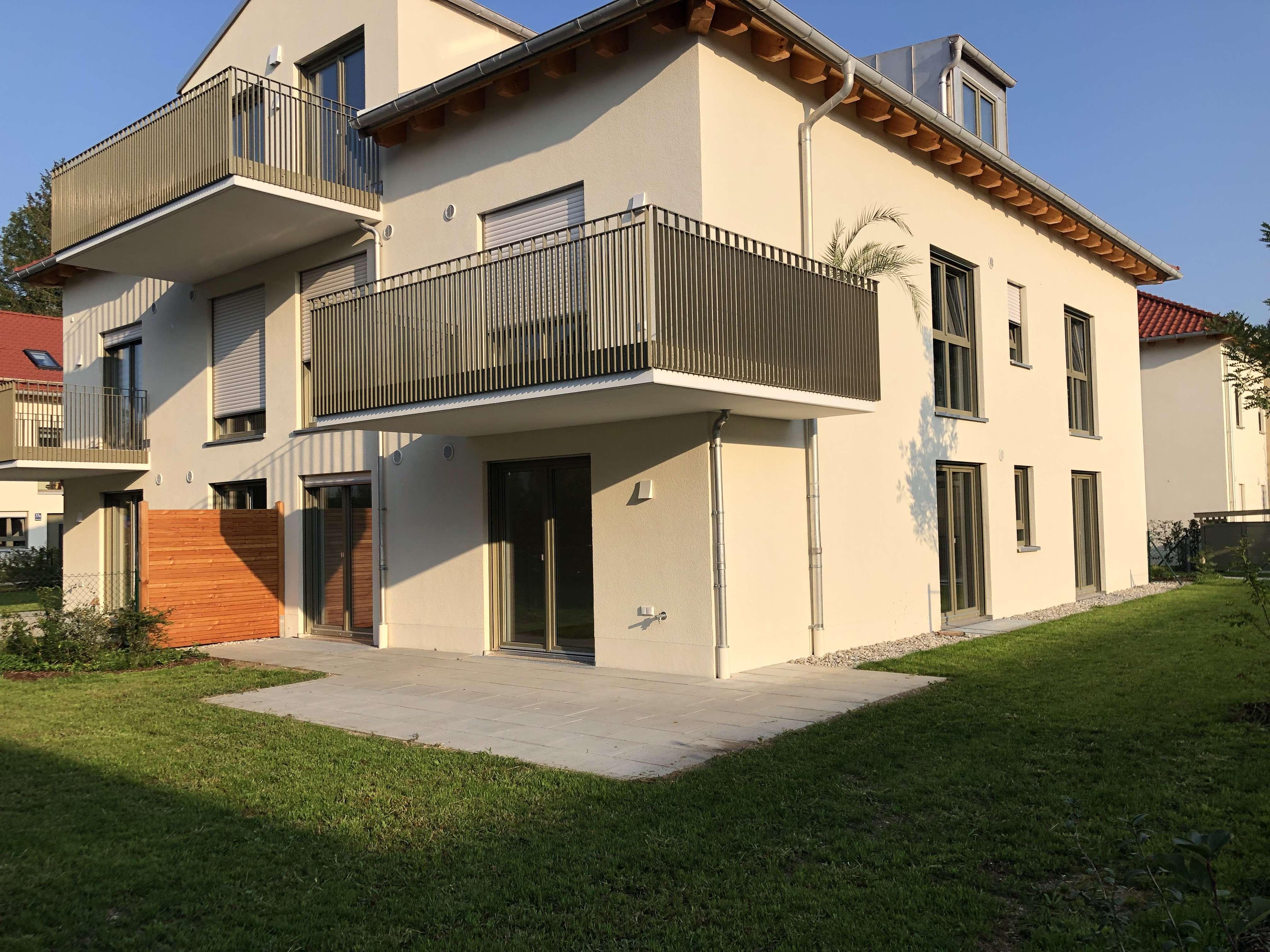 Neubau! 3 Zimmer Erdgeschosswohnung mit großem Garten in ruhiger Bestlage in Alt-Aubing in Aubing (München)