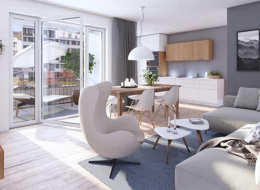 Wohnen in Freiburg: große 2-Zimmer-Wohnung in moderner Wohnanlage