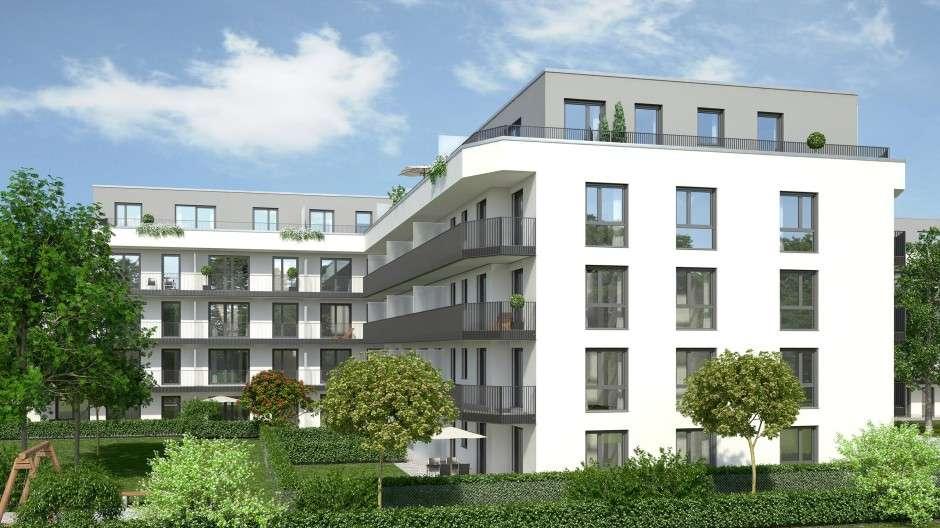 Erstbezug: exklusive 2 ZKB mit Balkon inkl. Einbauküche in Neusäß in Neusäß