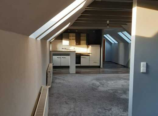 Modernisierte 1-Zimmer-DG-Wohnung mit Einbauküche in Neuruppin