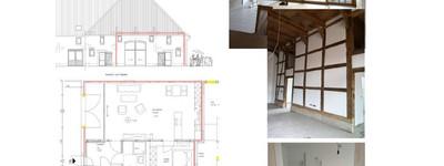Modernität trifft auf Fachwerk - Singlewohnung mit gehobener Ausstattung
