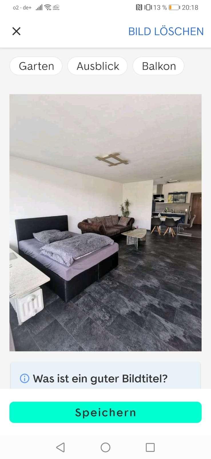 Exklusive, geräumige 1-Zimmer-Loft-Wohnung mit Balkon und EBK in Kempten in