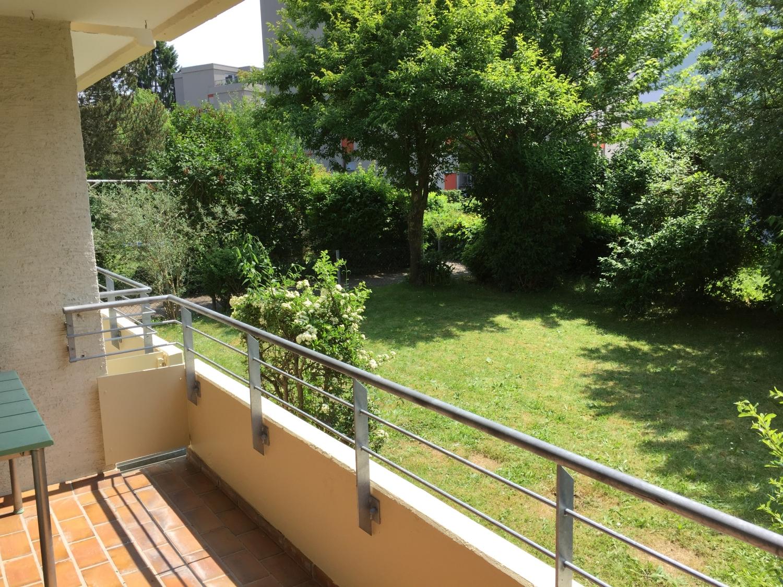 Ansprechende 1-Zimmer-Wohnung in Neu-Ulm (Offenhausen) - mit Südbalkon und Einbauküche