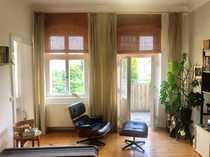 2-Zimmer-Altbauwohnung mit Balkon und Dielen -