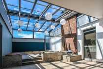 Atrium-Bungalow der Extraklasse