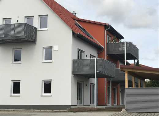 Erstbezug: stilvolle, sonnige 2-Zimmer-Wohnung mit EBK und Balkon in Gunzenhausen