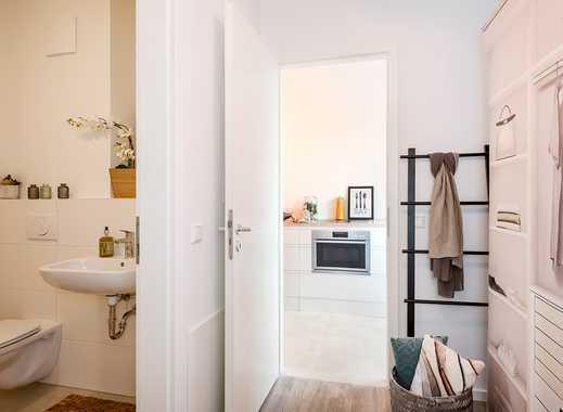 2-Zimmer-Wohnung auf ca. 57 m² mit offenem Flur und schönem Süd-Balkon