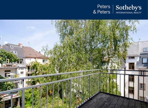 Charmanter Stilaltbau mit vier Wohnetagen mitten in Frankfurt