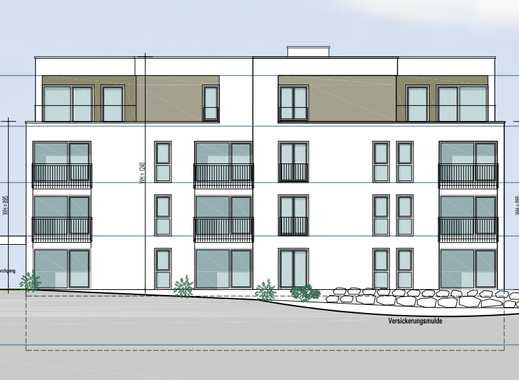 Moderne Neubau-Wohnung mit großer Dachterrasse