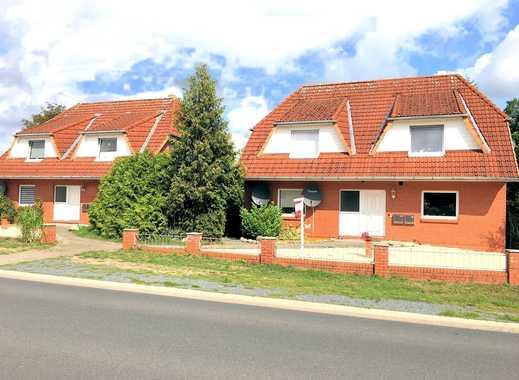 Wittstedt: 2 junge, gepflegte Doppelhäuser mit insgesamt 4 vermieteten Wohnungen
