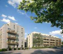 Erstbezug 2-Raum-Wohnung mit Terrasse und