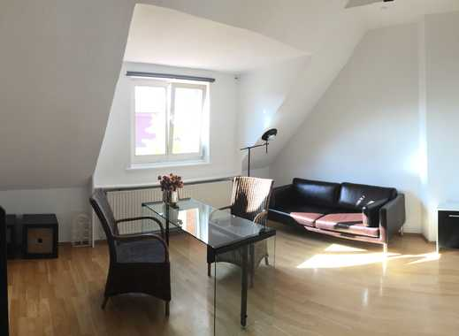 Provisionsfrei: Möbliertes Apartment auf 2 Etagen im Zooviertel