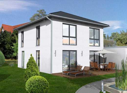 Freistehende Moderne Stadtvilla als Neubau inkl. Grundstück + Garage (schlüsselfertig)