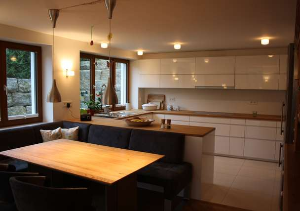 Esszimmer offene Küche
