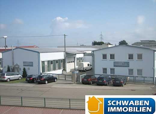Produktionshallen mit Büro- und Sozialtrakt in guter Lage von Niederstotzingen zu verkaufen!!!!