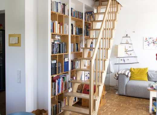 Vollständig renovierte 4-Zimmer-Maisonette-Wohnung mit Balkon in Düsseldorf
