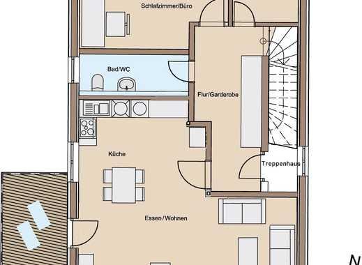 Erstbezug - 4,5-Zimmer- Maisonette mit großem Balkon - geringe Energiekosten