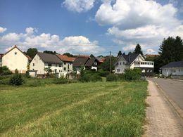 Grundstücksfläche, teilweise