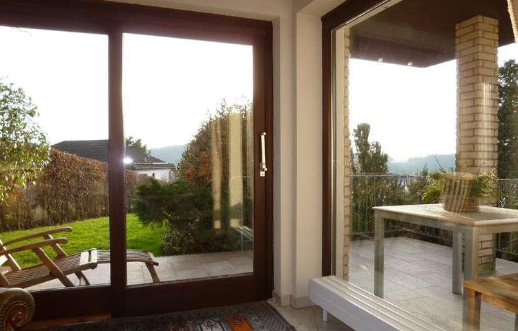 2 Terrassen am Wohnzimmer
