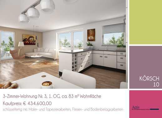 Moderne und familienfreundliche 3-Zimmer-Wohnung