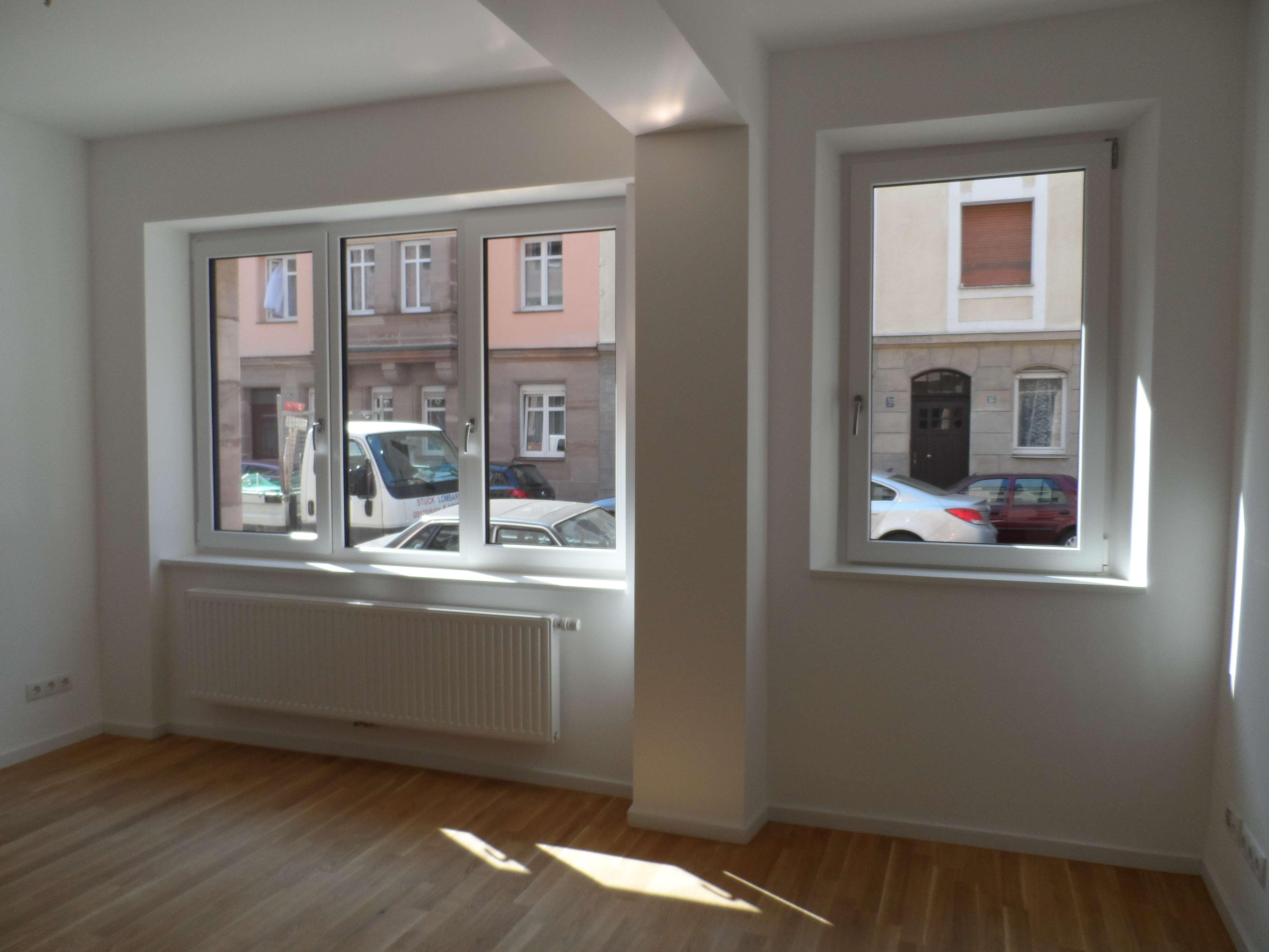 Nürnberg Nord: top 2-Zimmer Terrassenwohnung, Einbauküche; Objekt 2016 umfassend saniert in Uhlandstraße (Nürnberg)